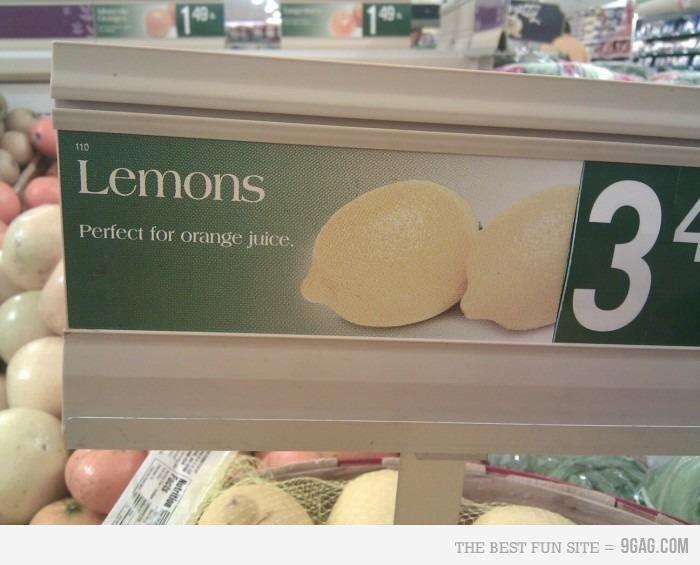 lemons. . lemons