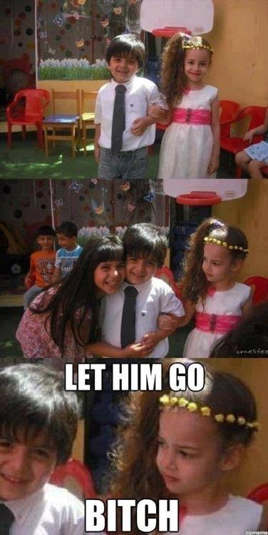 Let Him Go. . brad