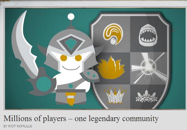 lies.. source: beta.na.leagueoflegends.com/en/news/c.... Millions of players — DIE ' It RI Mt . LU. Millions of Teemos One toxic community lies