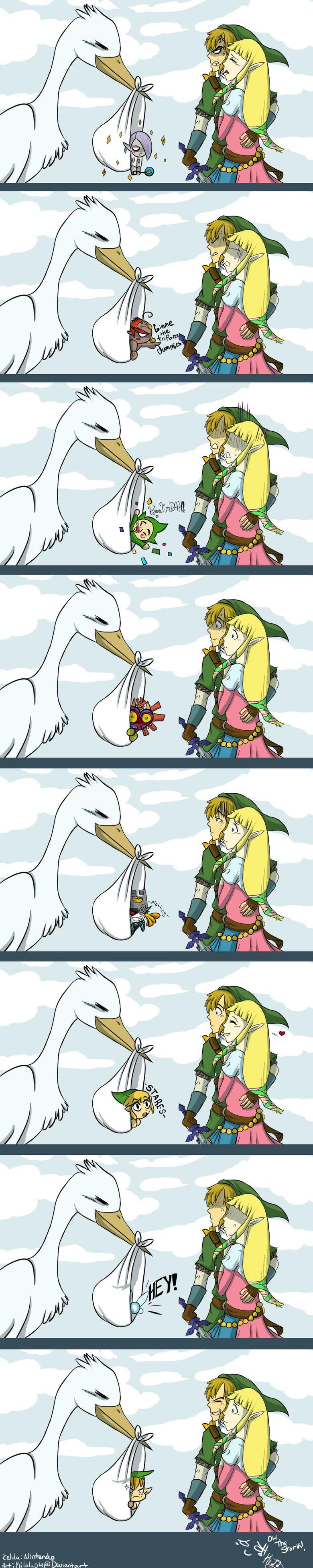 Link and Zelda. Found it on DeviantsArt.. Have fun Zelda