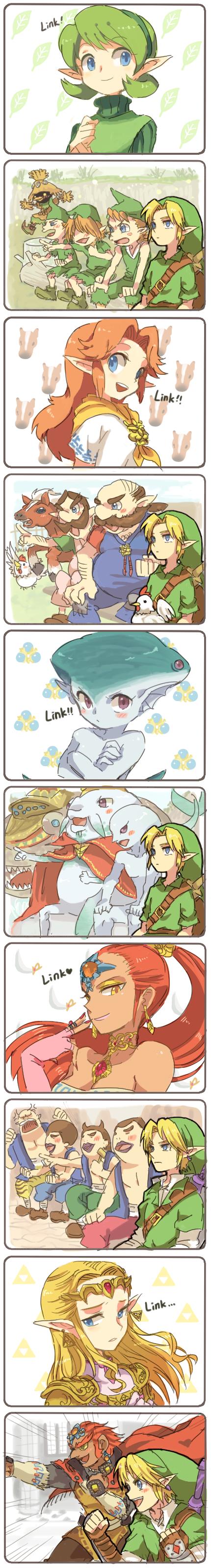 """Link. Link... Link...? LLIINNKKK!!.. """"Link"""" """"HIYAAAAAAAAAAAA HUAAAHHHHH HIYAAAAAA"""" """".........."""" hfw link Zelda Ganon nerdy gaming console Nerds are cool huh"""