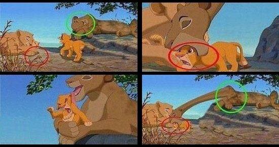 Lioness or giraffe?. . Walt Disney King Lion