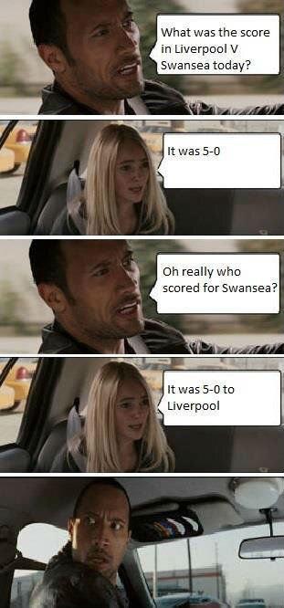 Liverpool Vs Swansea.. .. lel Liverpool
