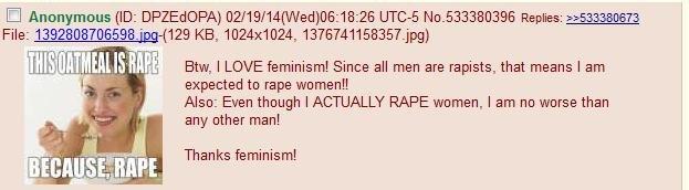 Logic so good it hurts. . Fice: -( 129 KB, 1024x1024, 13767411 5835 T, jpg) ifly J, y'. Btw, I LOVE feminism! Since all men are rapists, that means I am I iall  Logic so good it hurts Fice: -( 129 KB 1024x1024 13767411 5835 T jpg) ifly J y' Btw I LOVE feminism! Since all men are rapists that means am iall