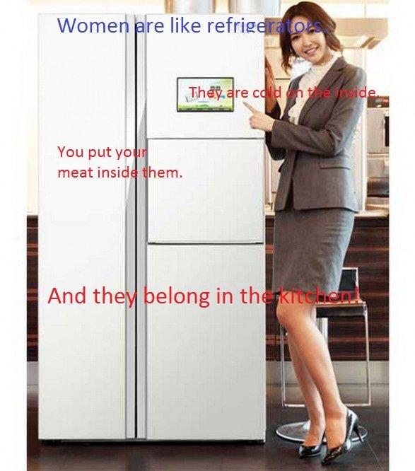 Lol, Women. Ain't it the truth?. Wooed he like refrase You put yo meat inside hem, And the oolong in - women