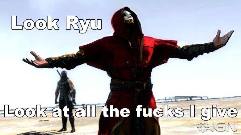 Look Ryu!. . Look Ryu!