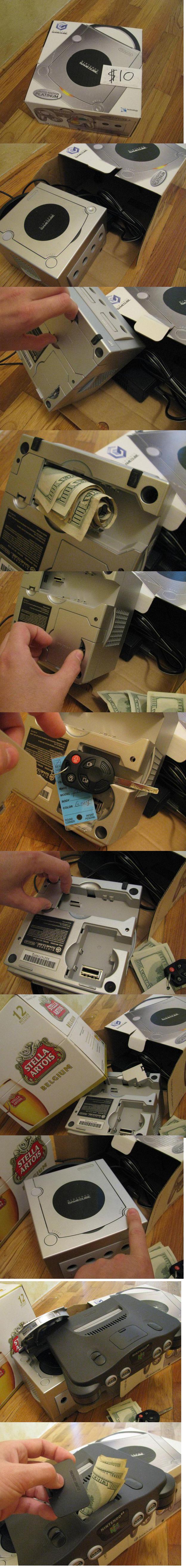 Lucky guy. this guy bought a gamecube for 10$....he got more than he expected. asdasdasdasdas