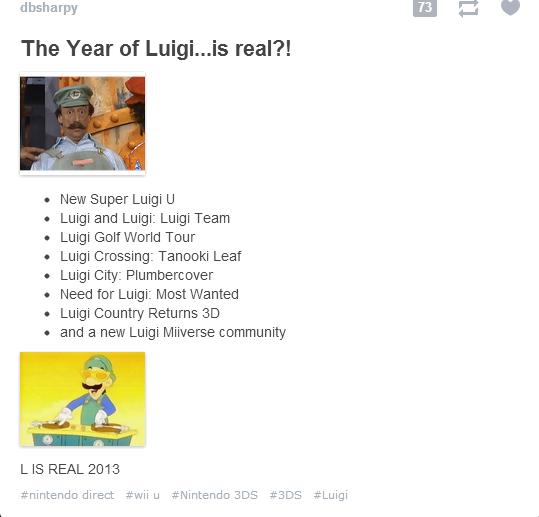 LUIGI FOR THE WORLD. LUIGI. LUIGI FOR THE WORLD