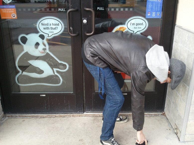 """Padna Express. My First OC. ...be gentle.... """"oc"""" Panda Express dat ASS"""