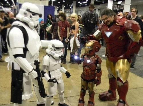 Parenting Level Un-Fucking-Believable.. .. Isn't he a little short to be a storm trooper? Parenting Level Un-Fucking-Believable Isn't he a little short to be storm trooper?