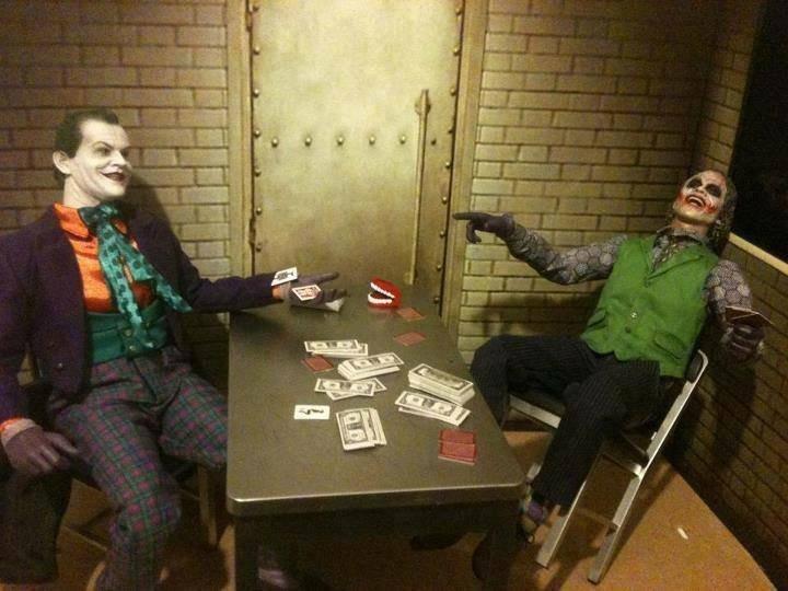 past and present. . joker haha