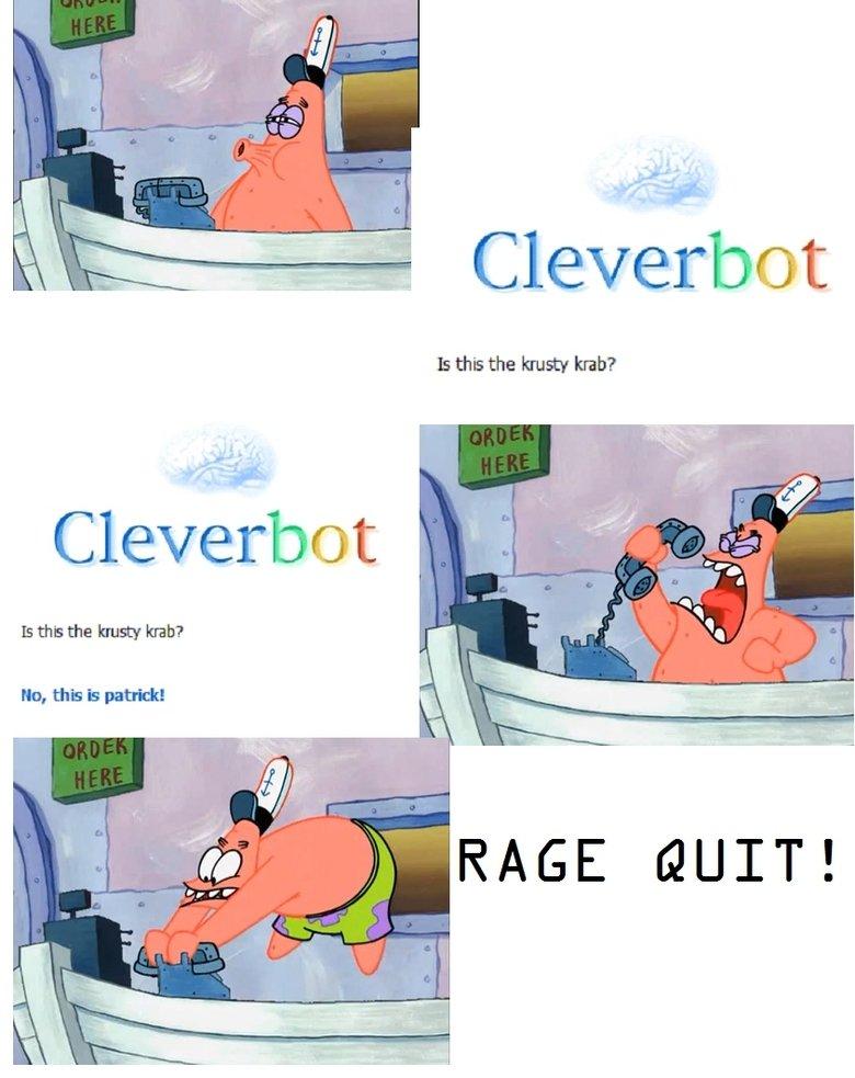 Patrick's Rage. My First SFW Content.. patrick krusty krab