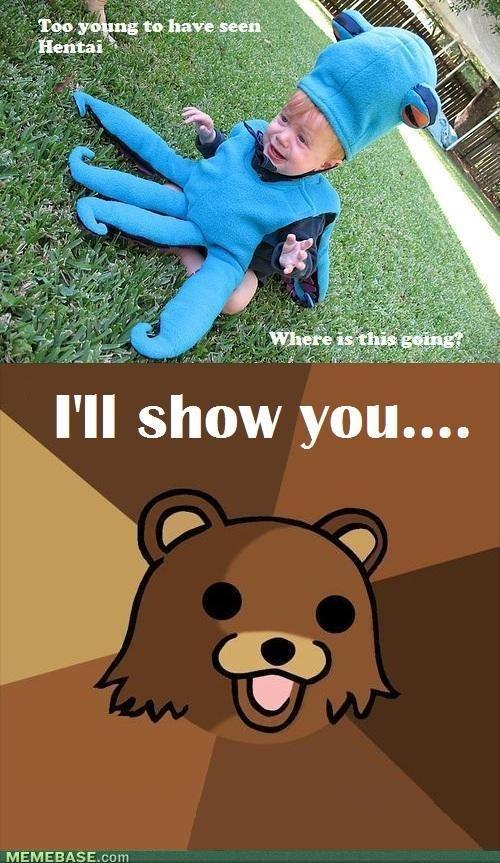 Pedo Bear Hentai. ass. II show yum... MEMEBASE. two girls one cup