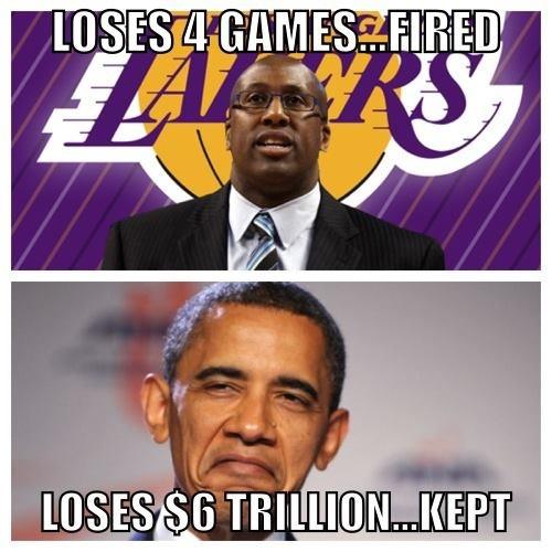 people logic. .. obama lol funny Lakers baby future