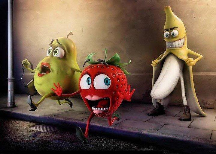 Perverted Banana. lol RUNN!!!. lol