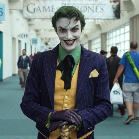 Photogenic Joker on the Public Place. Photogenic Joker on the Public Place. joker Batman Joker joker cosplay