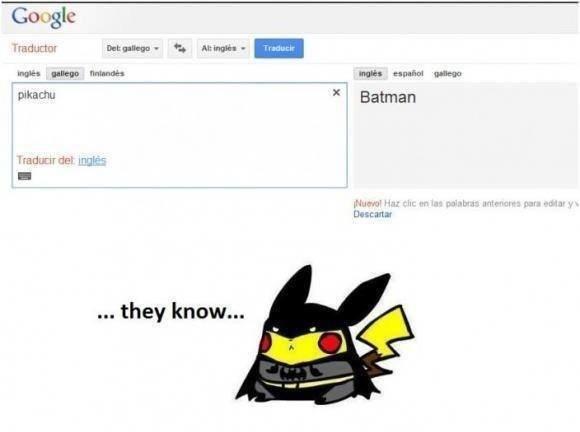 Pikachu's other side. Pikachu is Batman, Batman is Bruce Wayne, Bruce Wayne is Pikachu. C; oogle pekachu they know... Batman tureens FEW. But not the one that it needs Pikachu is Batma batman is bruce  Bruce Wayne is P