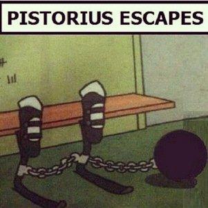Pistorious. Breaking News!!!. PISTORIUS ESCAPES. inb4 katawa shoujo comments Sports