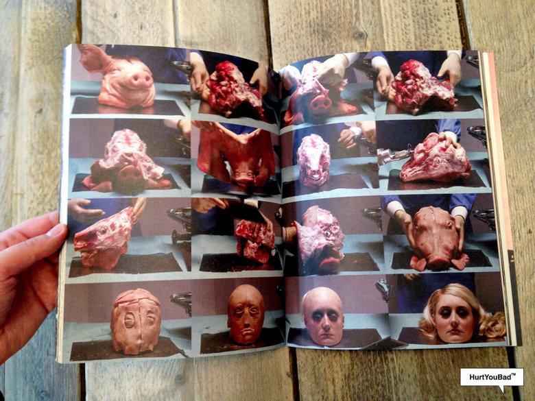 """Plastic Surgery. Plastic surgeons transforms a pig head into Paris Hilton. Hontou Bad"""" '. This scares me da fuck"""