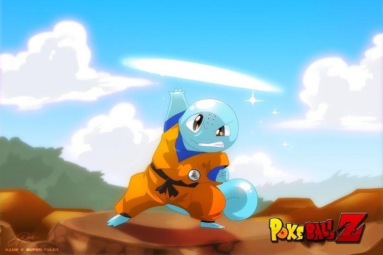 PokeballZ. Squillen.. So, Goku would be an Infernape or something. PokeballZ Squillen So Goku would be an Infernape or something