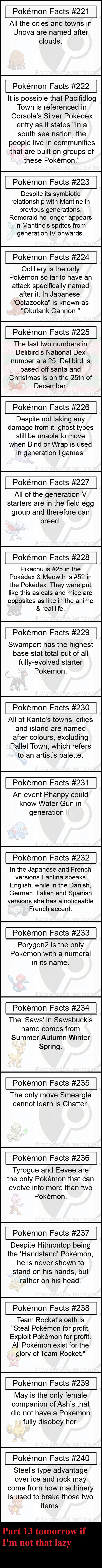 Pokemon Facts 12. Part 11: /channel/pokemon/Pokemon+Facts+11/xpr... Part 10: funnyjunk.com/channel/pokemon/Pokemon+Facts+10/mnRhGza/ Part 9: funnyjunk.com/chann Pokemon Facts 12 Part 11: /channel/pokemon/Pokemon+Facts+11/xpr 10: funnyjunk com/channel/pokemon/Pokemon+Facts+10/mnRhGza/ 9: com/chann