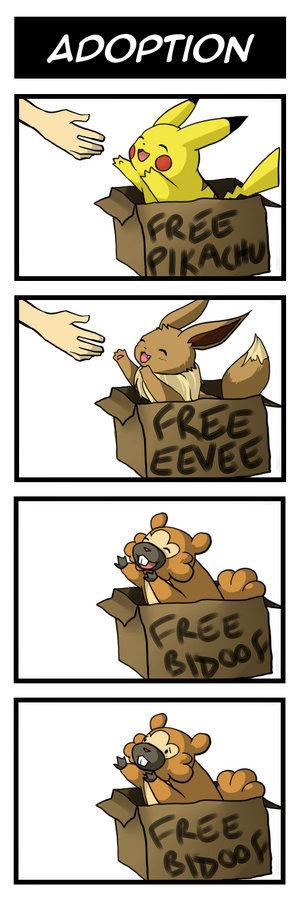 Pokemon Feels. HM Slave Go!.. MFW free eevee feels bad man