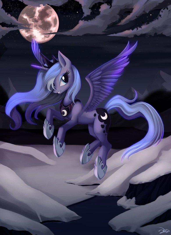 PONIES: Luna. .. where did u get this? PONIES: Luna where did u get this?