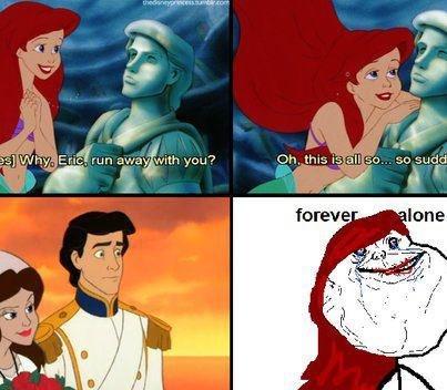 Poor Arielle. Yeah... poor, poor girl. Not OC... Ariel's my Disney crush. Poor Arielle Yeah poor girl Not OC Ariel's my Disney crush