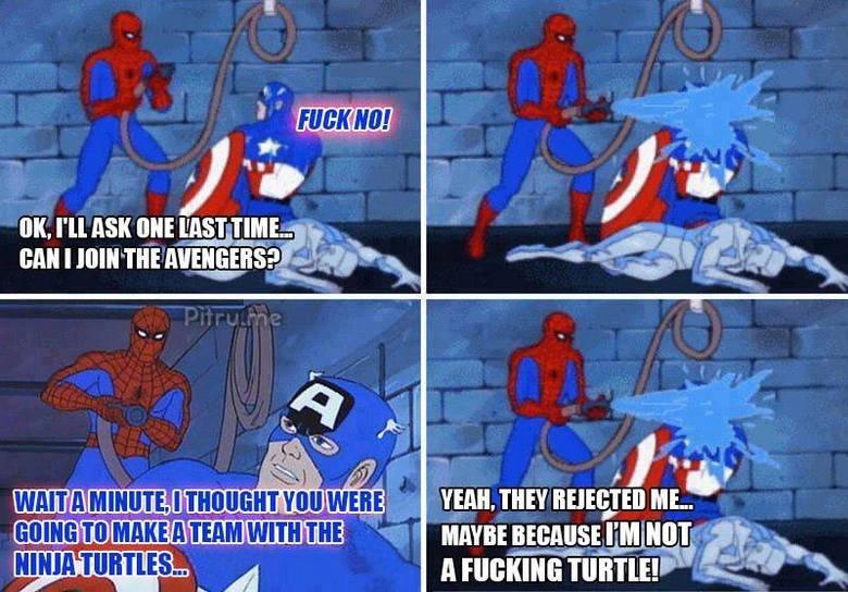 Poor spidey.... . OP fag lel spidey