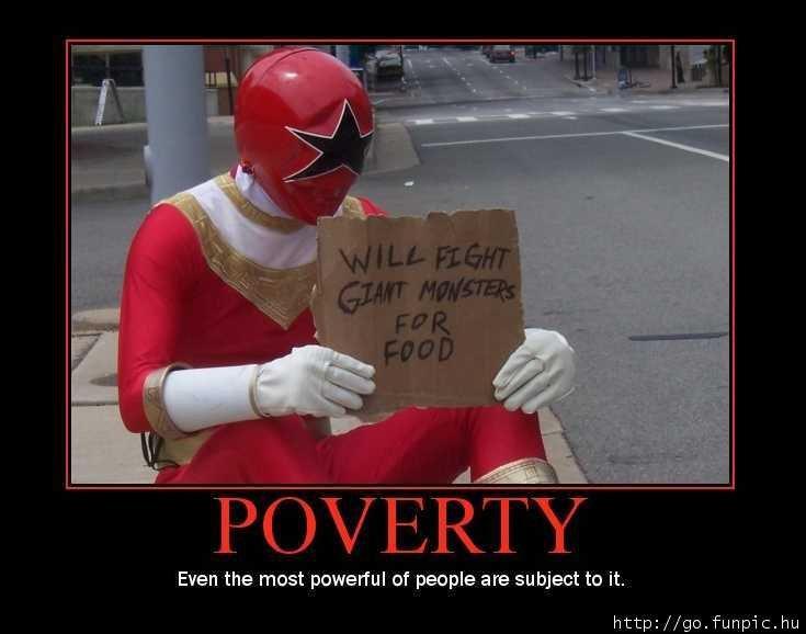 poverty. . power ranger pov