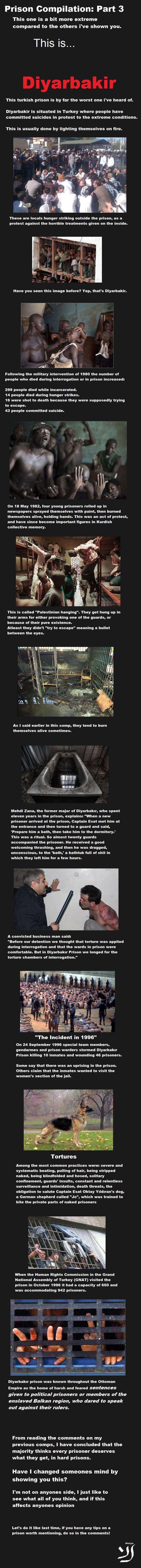 Prison Compilation Part 3: Turkey. Norway - Part 1: /Prison+comp+Bastoy+Part+1/funny-pict... Norway - Part 2: /Prison+comp+Bastoy+part+2/funny-pict... Russia -  tough prison Life