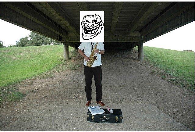 problem. under the bridge.. like like the bridge, this joke is over my head... problem under the bridge like this joke is over my head