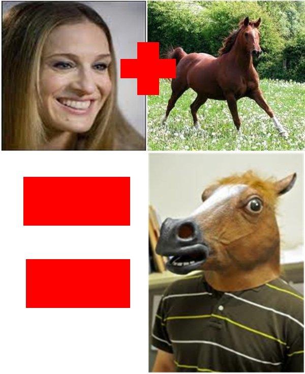 Product of Sarah Jessica Parker. . sarah jessica pa Horse