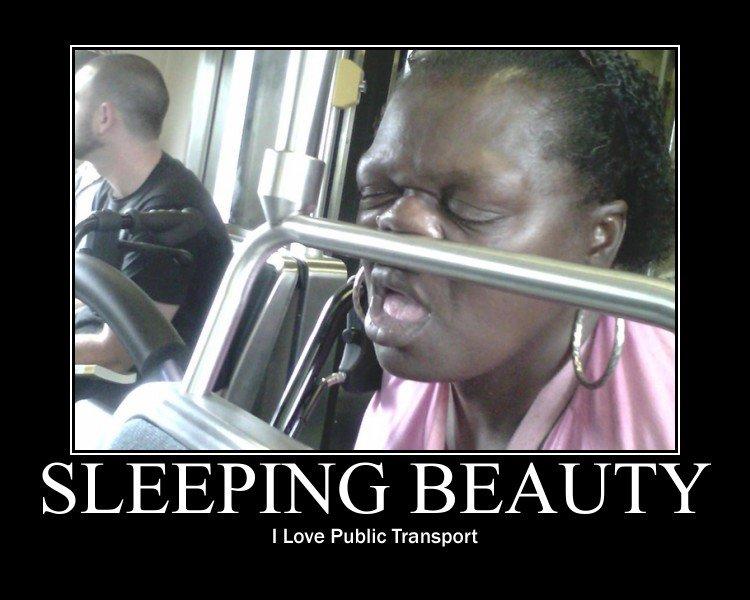 pub transport. saw on fb..... Mali: Tramp. samuel l jackson in drag? niggaz at back