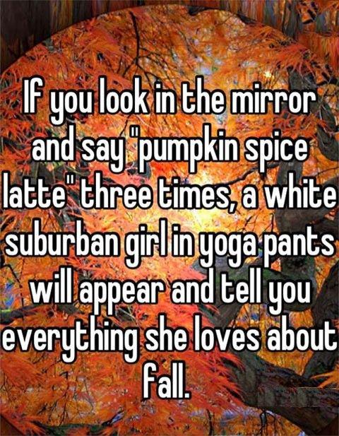 Pumpkin spice latte.. . latte t; . bames};. I think we'd all be fine with that. Pumpkin spice latte t; bames}; I think we'd all be fine with that
