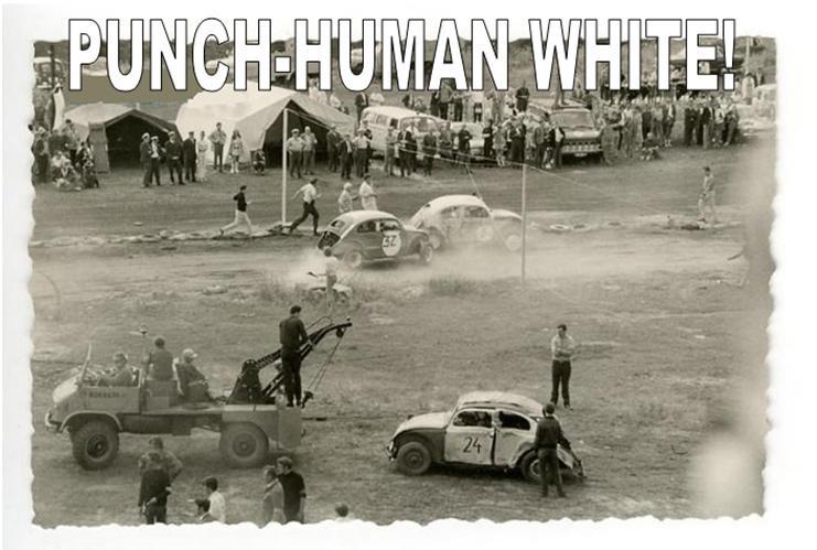 Punch-Buggy. In an alternate universe.. volkswagen beetle