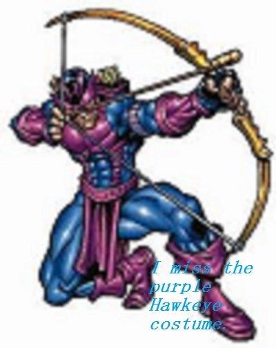 Purple. .. Resolution, I... hawkeye Purple arrows fantasticness