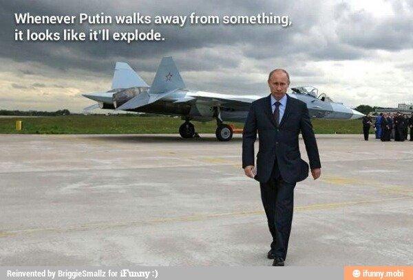 Putin Explodes. The man so popular, he won over 110% of the vote.. Doing it right? Putin Explodes The man so popular he won over 110% of the vote Doing it right?