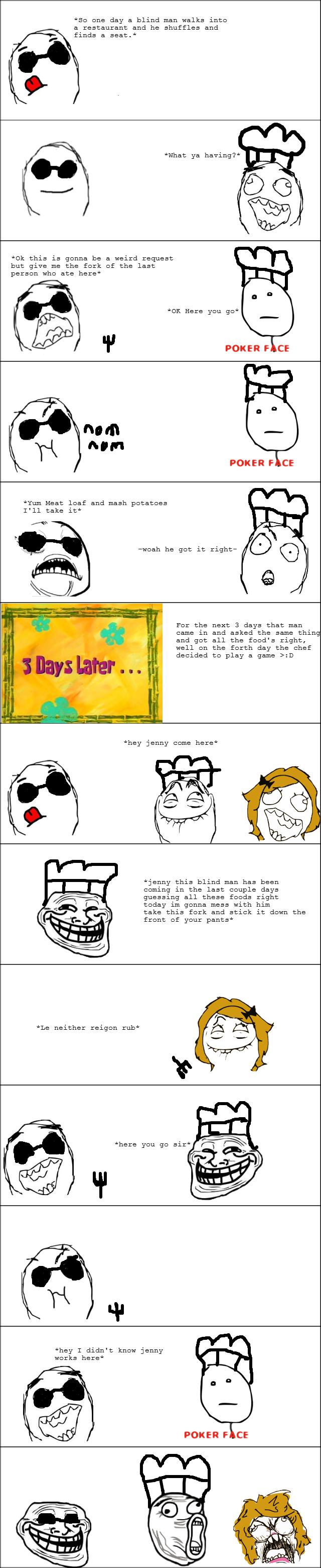 Tastes Like Chicken. .. id rather read the joke as a joke instead of read it through a 9gag meme comic Tastes Like Chicken id rather read the joke as a instead of it through 9gag meme comic