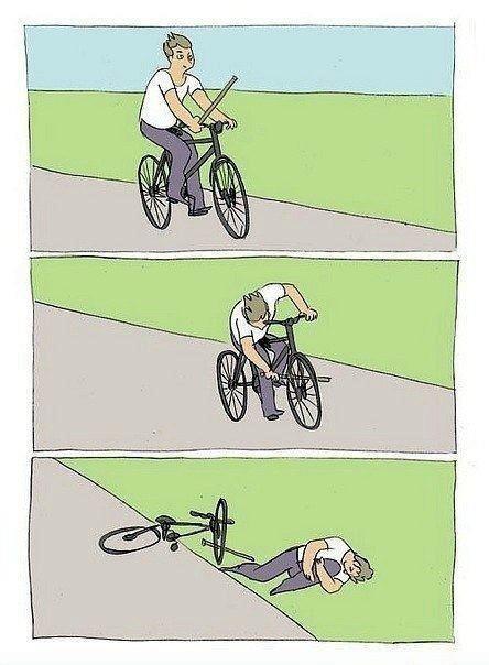 Teach me how 2 bike. . bike