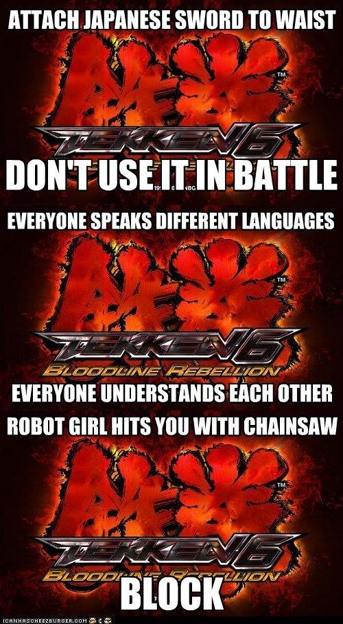 Tekken Meme. I created this myself after playing Tekken 6 and noticing a few thing . JAPAN ESE SI_ Ml] VIII WAIST Tn N u it If IN then OTHER new tum nus VIII! W tekken meme blue blur kazama mishima