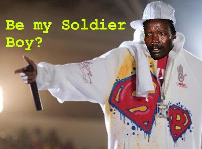 Tell em' Kony. . Be my Soldier Kony soulja boy tell em