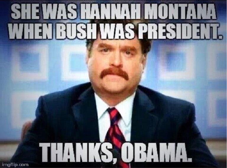 Thanks, Obama. Where's my mountain dew?!. thanks obama