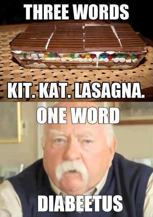 That deep fried Kit Kat.... . THREE W_ l! That deep fried Kit Kat THREE W_ l!