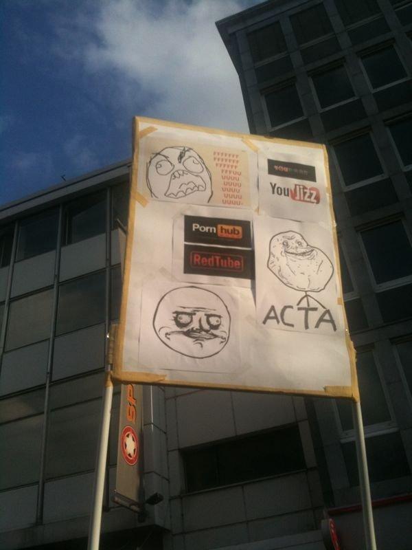 The best anti acta Sign. . The best anti acta Sign