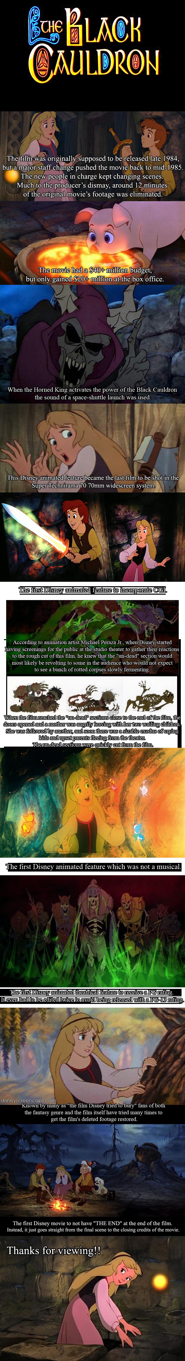 The Black Cauldron. Sources:www.imdb.com/title/tt0088814/?ref_=tt... en.wikipedia.org/wiki/The_Black_Cauld... www.slate.com/articles/arts/dvdextras... Don't sub The Black Cauldr compilation