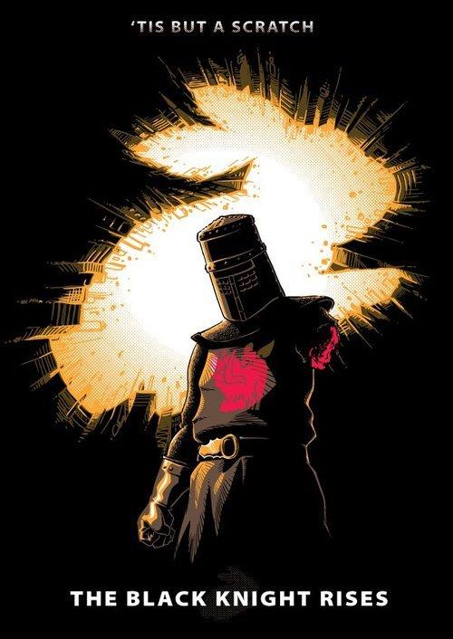The Black Knight Rises. . THE BLACK KNIGHT RISES The Black Knight Rises THE BLACK KNIGHT RISES
