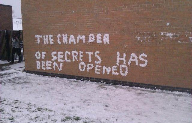 The Chamber of Secrets. . The Chamber of Secrets