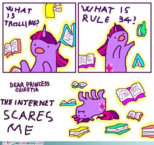 the enternet scares me. . the enternet scares me