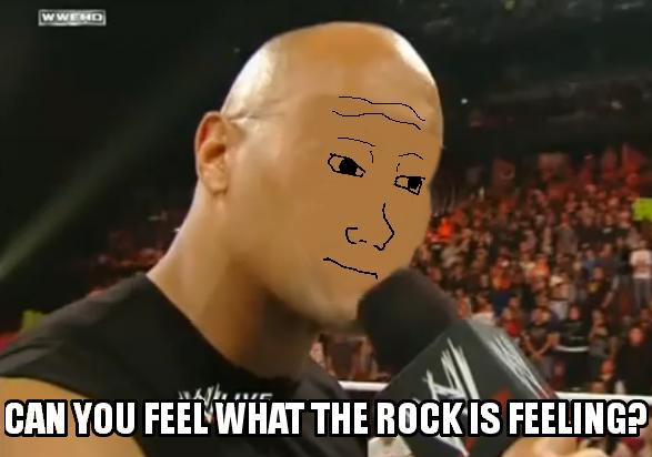 The Feel. Something I did a while ago. BAN Yoo TH FEELI till? OC the rock feel